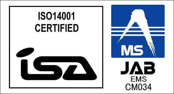 ISA&JABマーク ISO14001